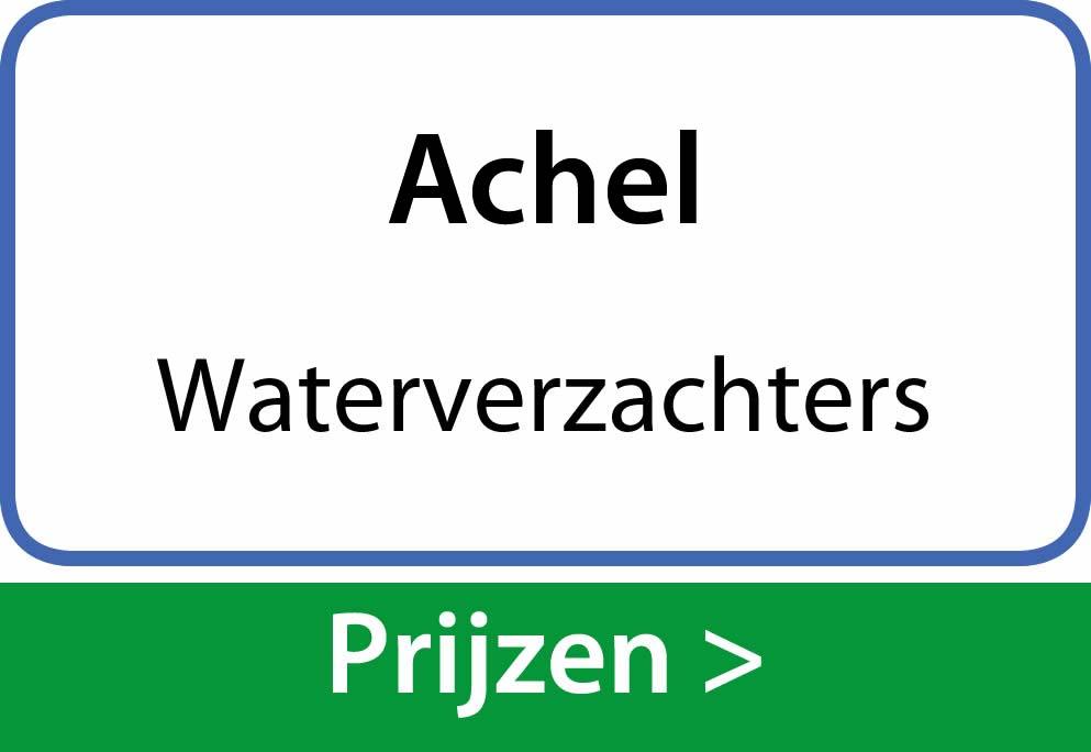 waterverzachters Achel
