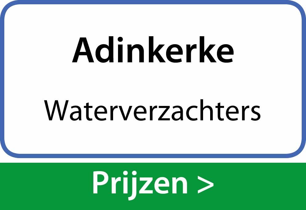 waterverzachters Adinkerke