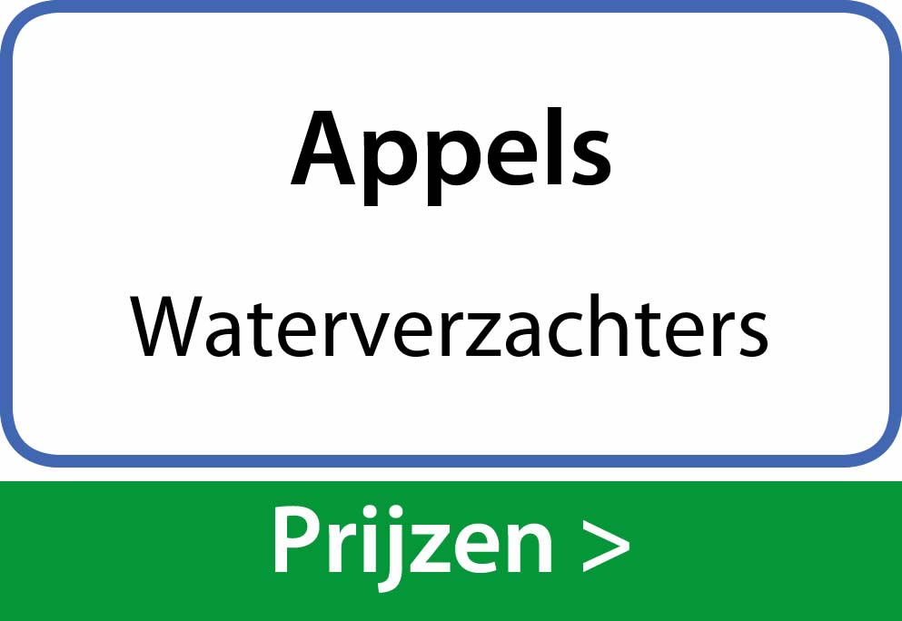 waterverzachters Appels
