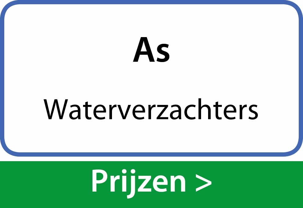 waterverzachters As