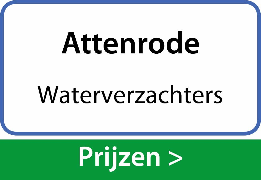 waterverzachters Attenrode