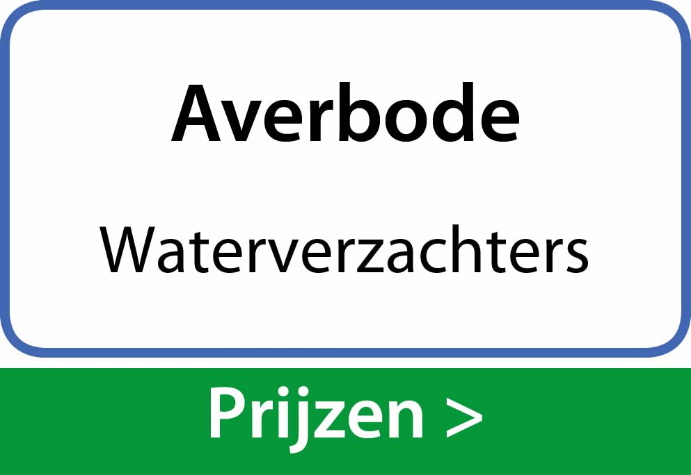 waterverzachters Averbode
