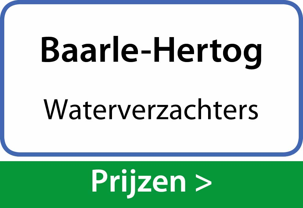 waterverzachters Baarle-Hertog