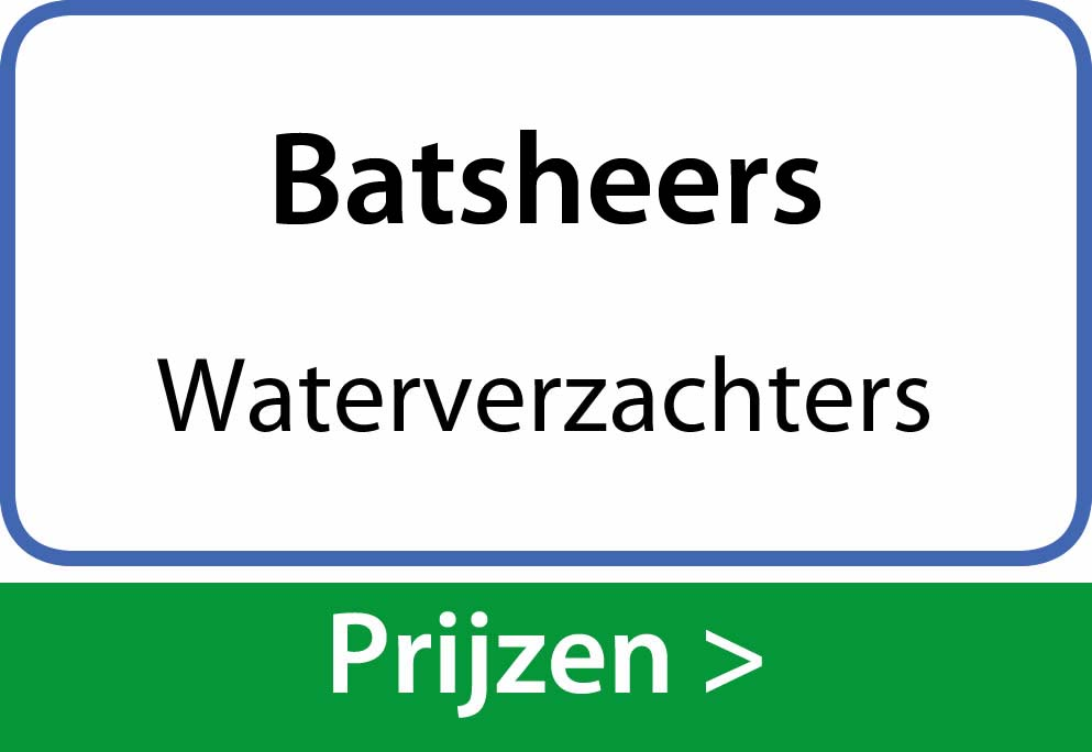 waterverzachters Batsheers