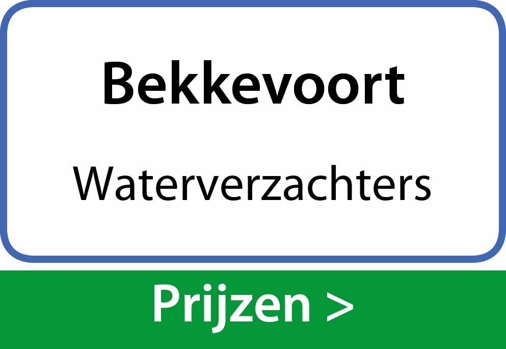 waterverzachters Bekkevoort