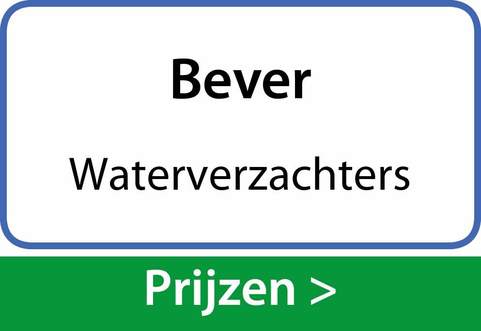 waterverzachters Bever