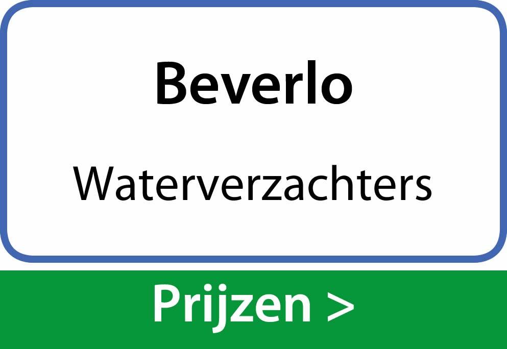 waterverzachters Beverlo