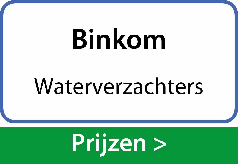 waterverzachters Binkom