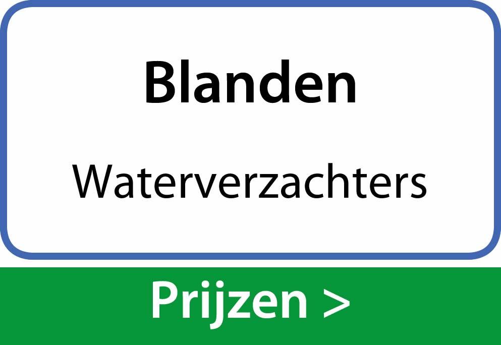 waterverzachters Blanden