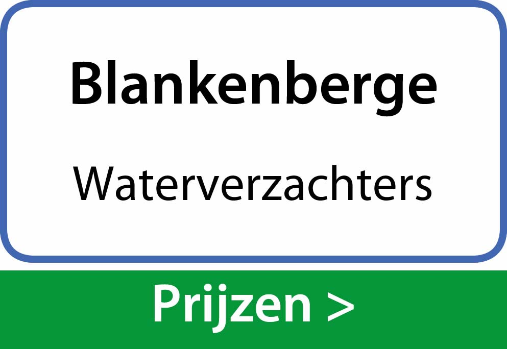 waterverzachters Blankenberge