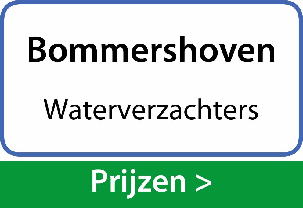 waterverzachters Bommershoven