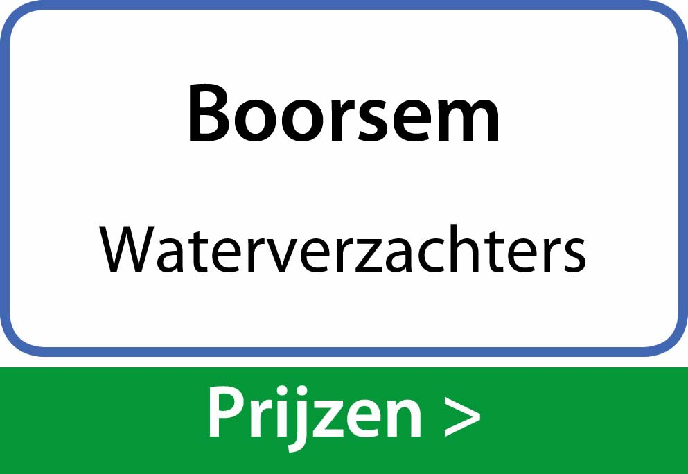 waterverzachters Boorsem
