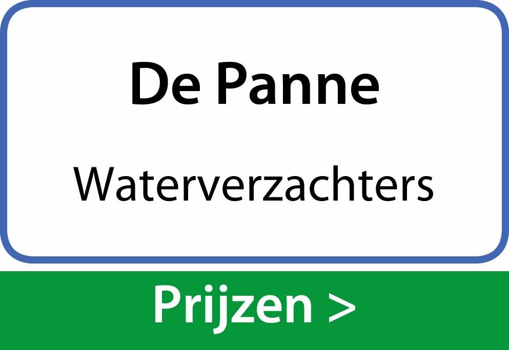waterverzachters De Panne