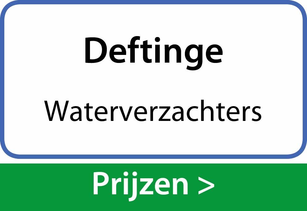 waterverzachters Deftinge