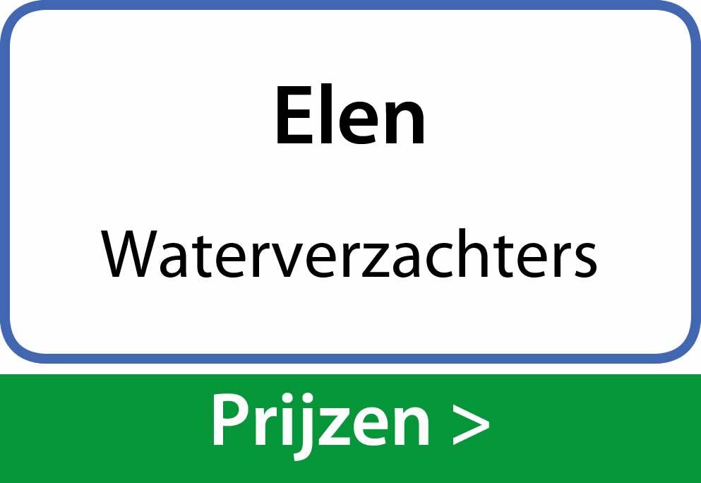 waterverzachters Elen
