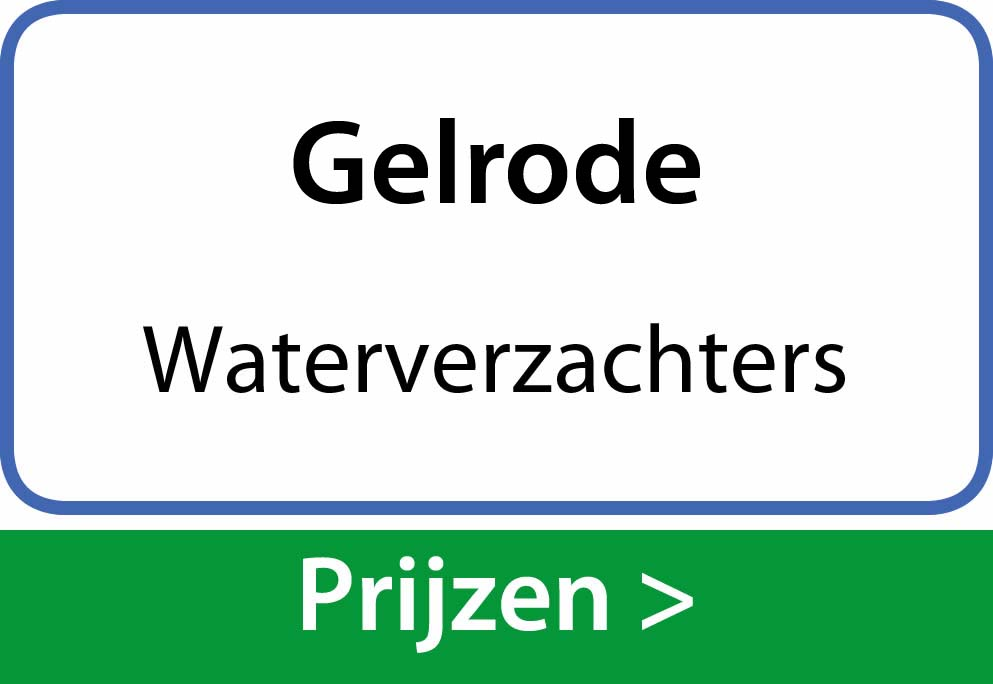 waterverzachters Gelrode