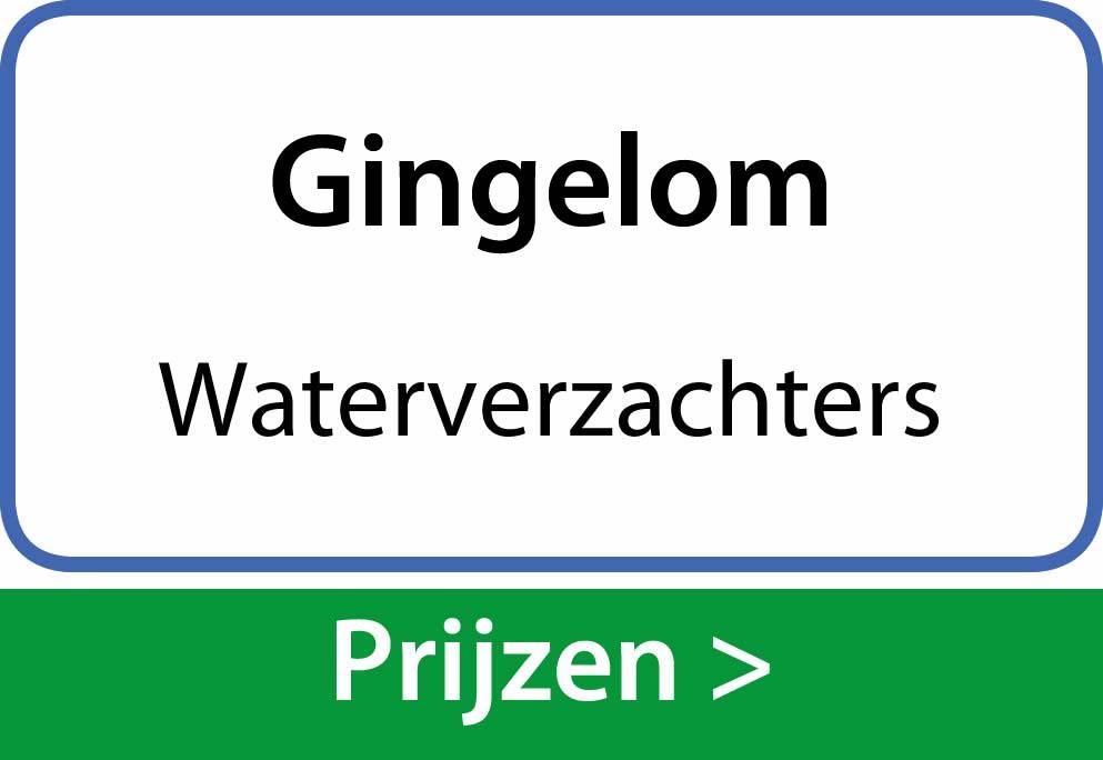 waterverzachters Gingelom