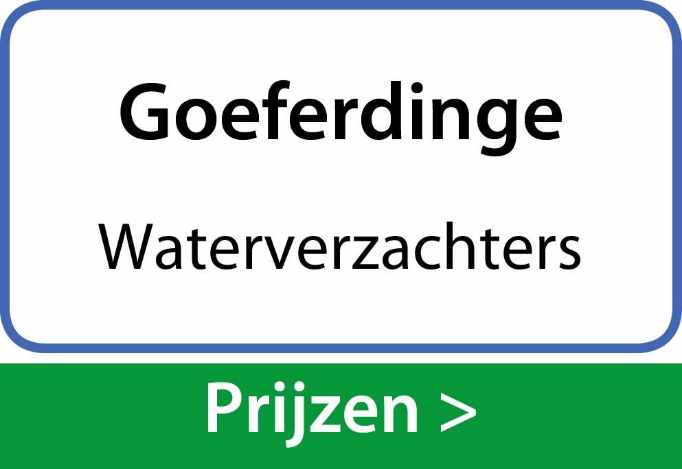 waterverzachters Goeferdinge
