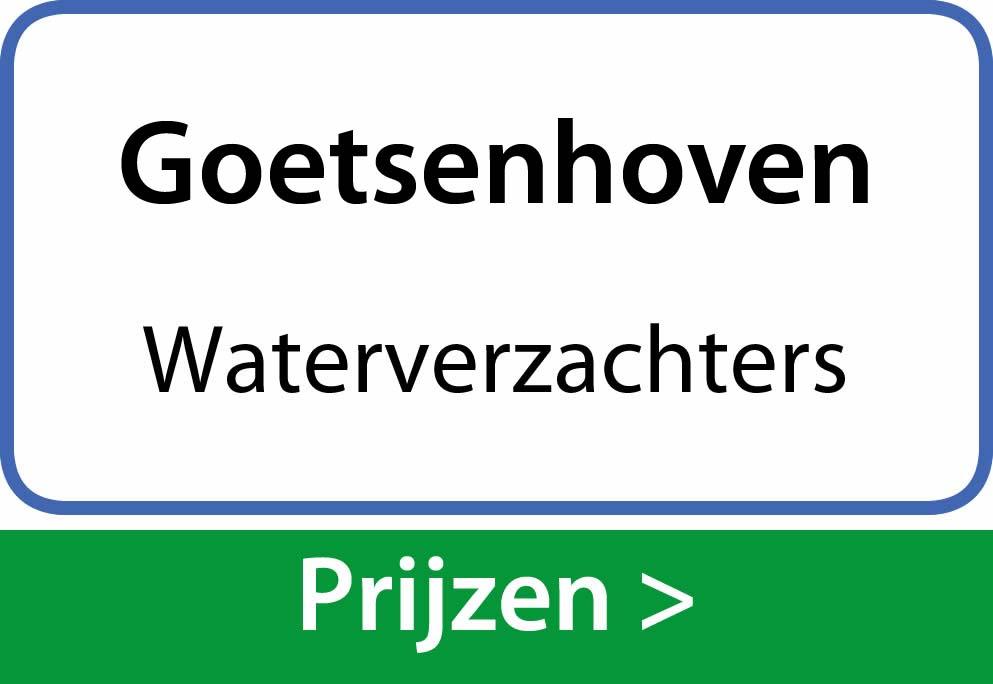 waterverzachters Goetsenhoven