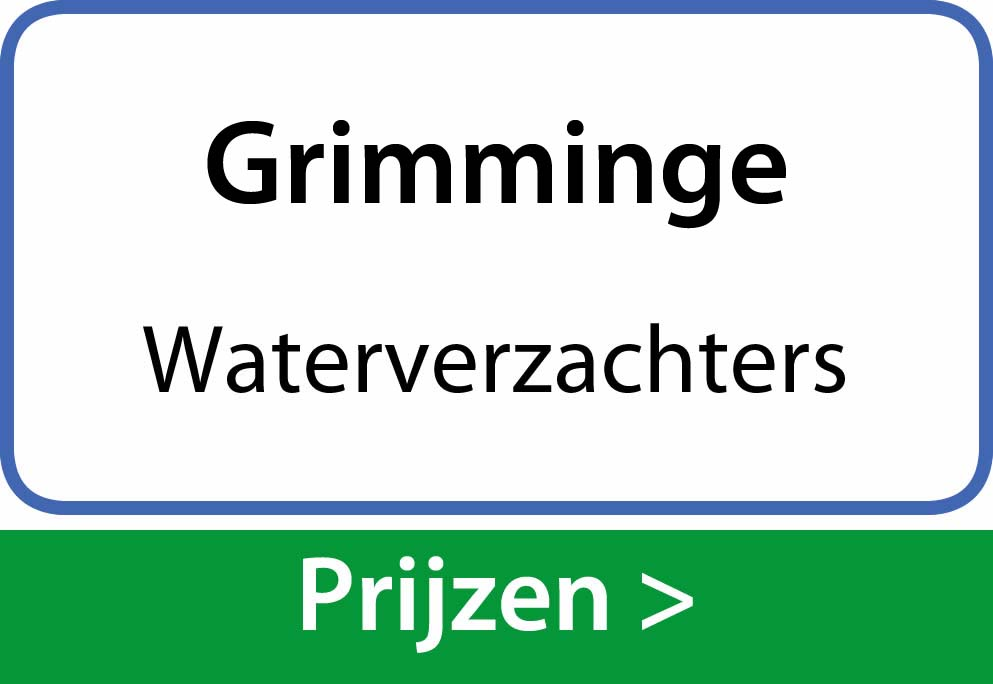 waterverzachters Grimminge