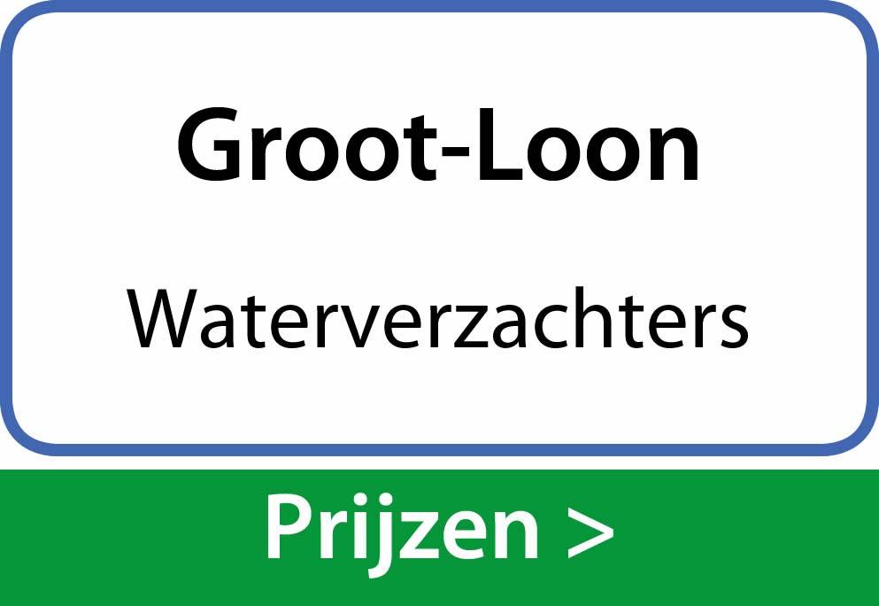 waterverzachters Groot-Loon