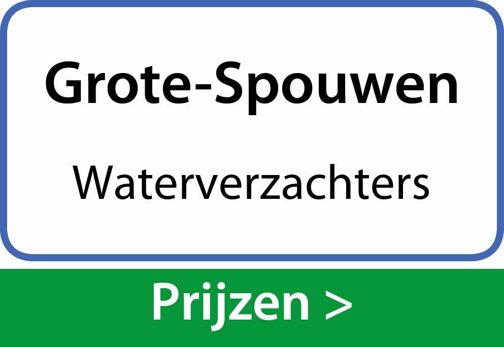 waterverzachters Grote-Spouwen