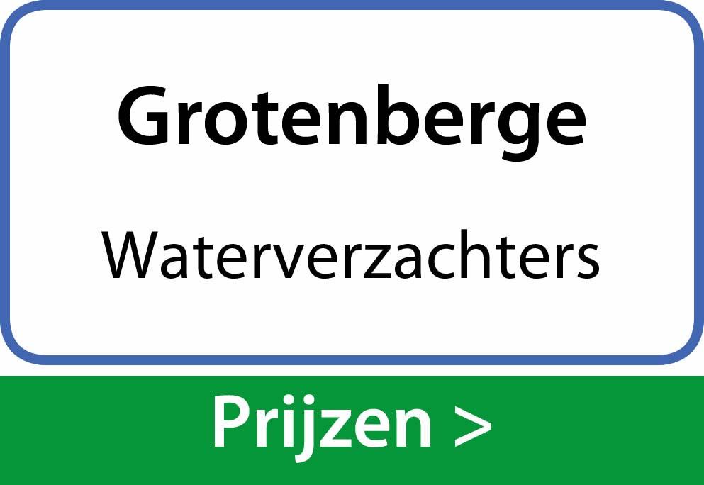 waterverzachters Grotenberge