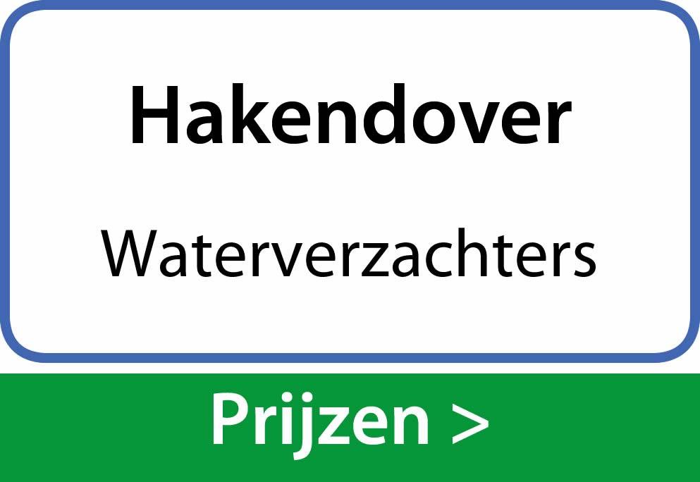waterverzachters Hakendover