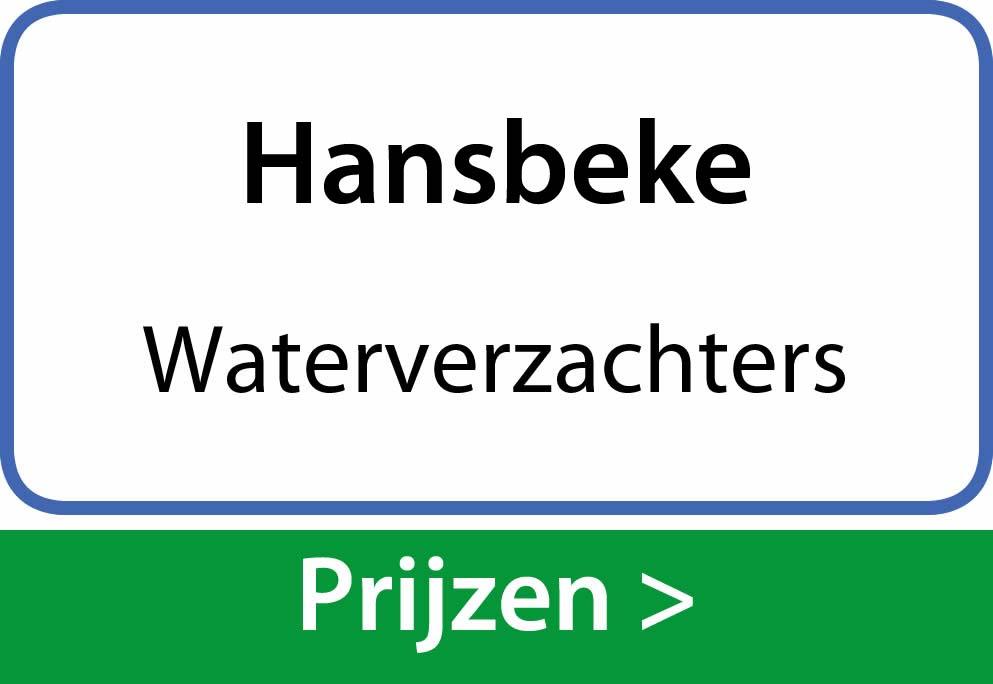 waterverzachters Hansbeke