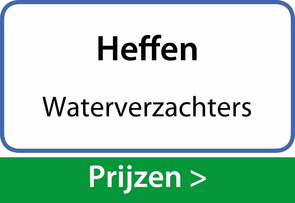 waterverzachters Heffen