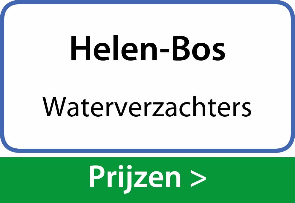 waterverzachters Helen-Bos