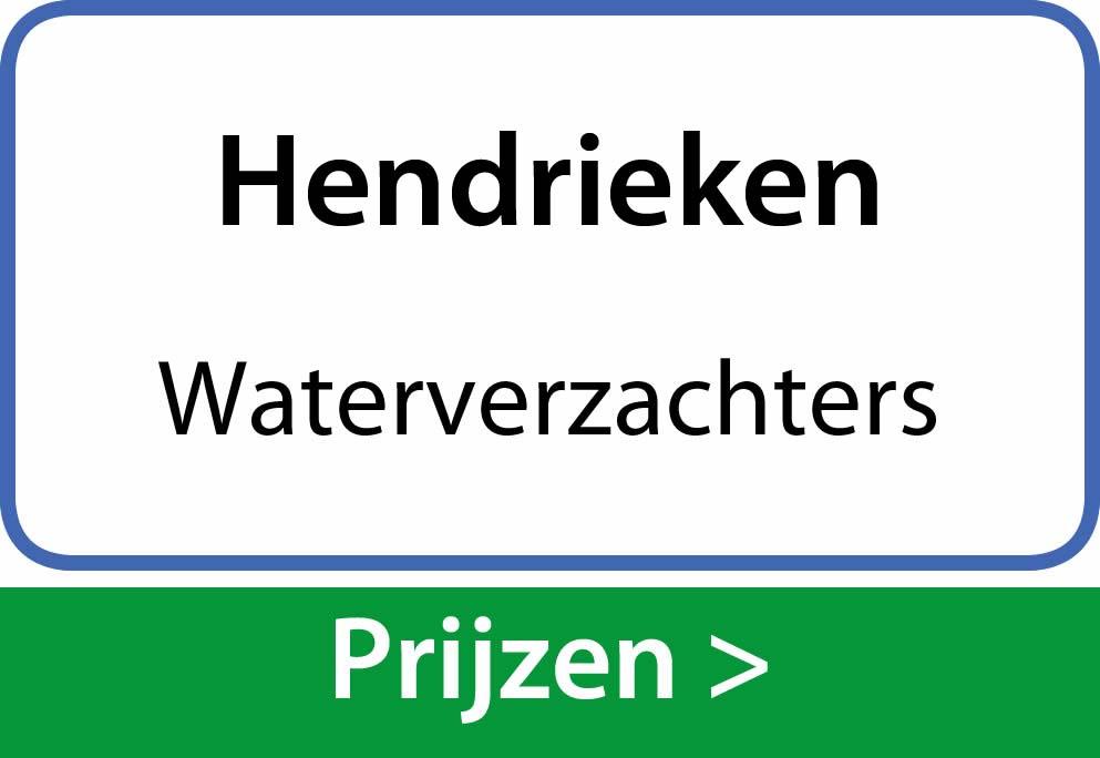 waterverzachters Hendrieken