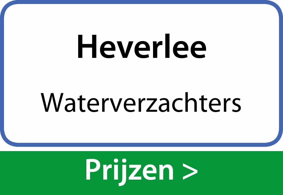 waterverzachters Heverlee
