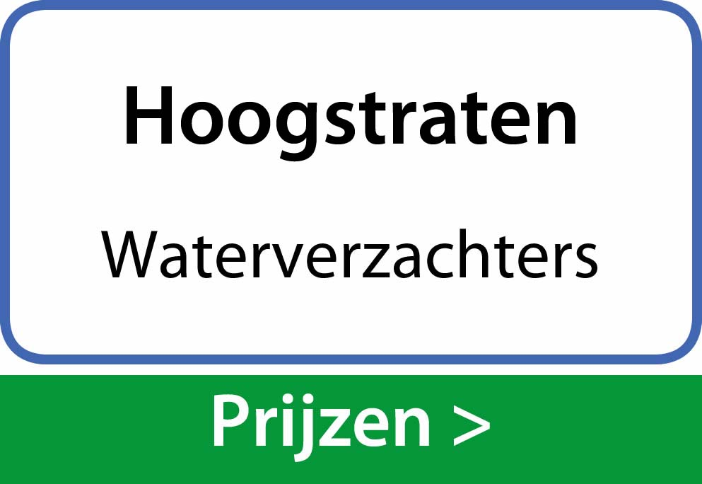 waterverzachters Hoogstraten