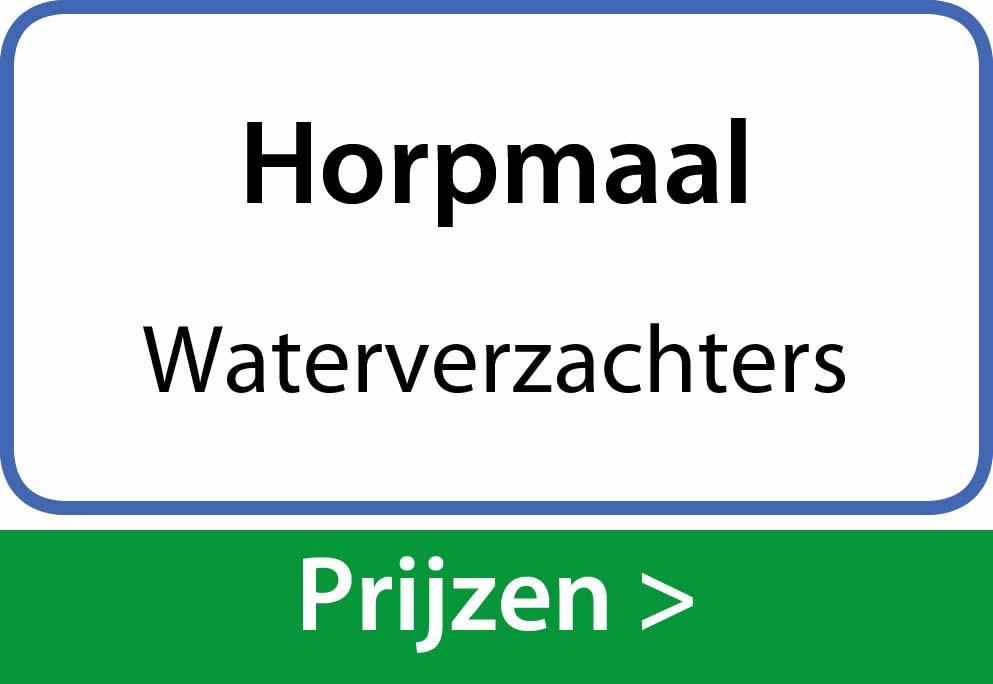 waterverzachters Horpmaal