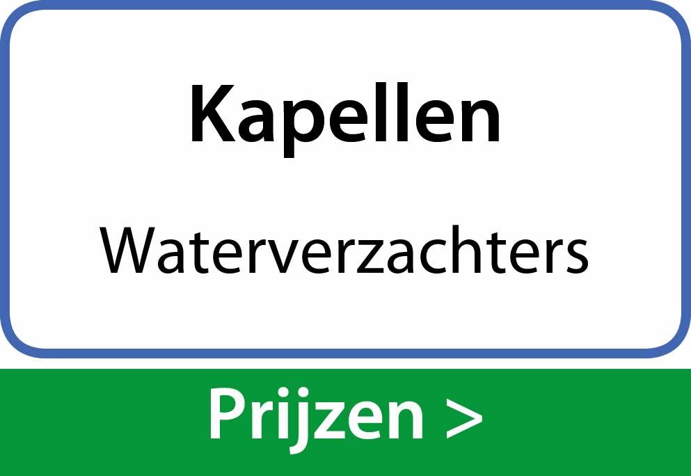 waterverzachters Kapellen