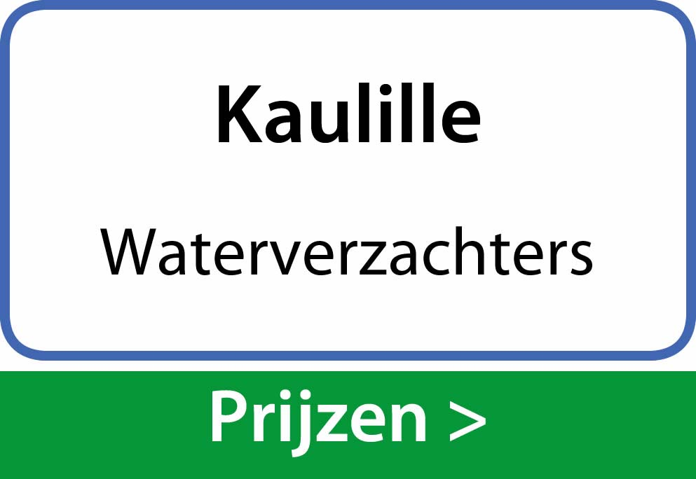 waterverzachters Kaulille