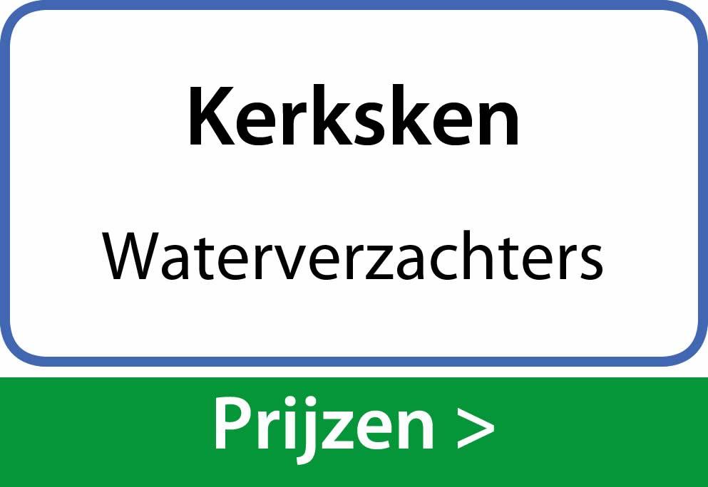 waterverzachters Kerksken