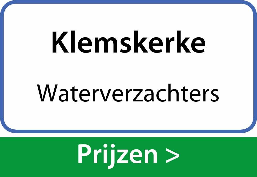 waterverzachters Klemskerke