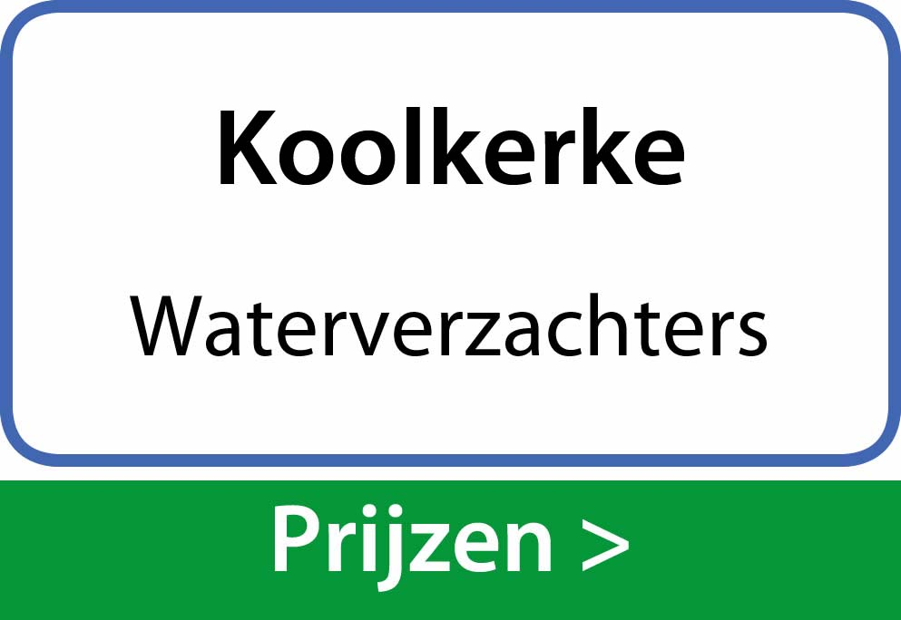 waterverzachters Koolkerke