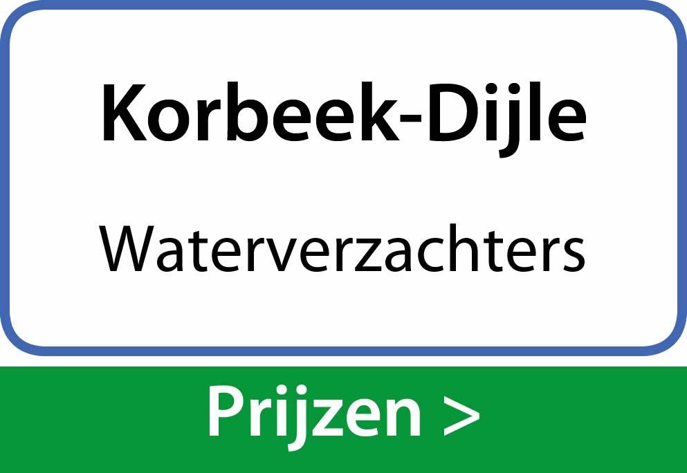 waterverzachters Korbeek-Dijle