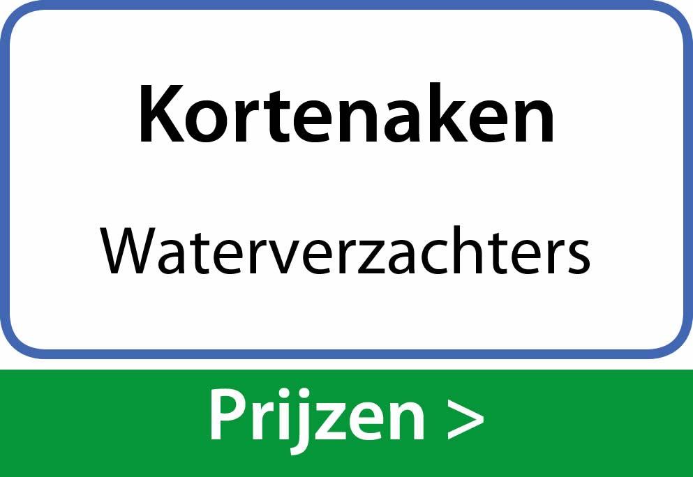 waterverzachters Kortenaken