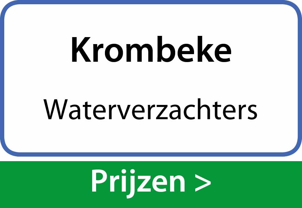 waterverzachters Krombeke