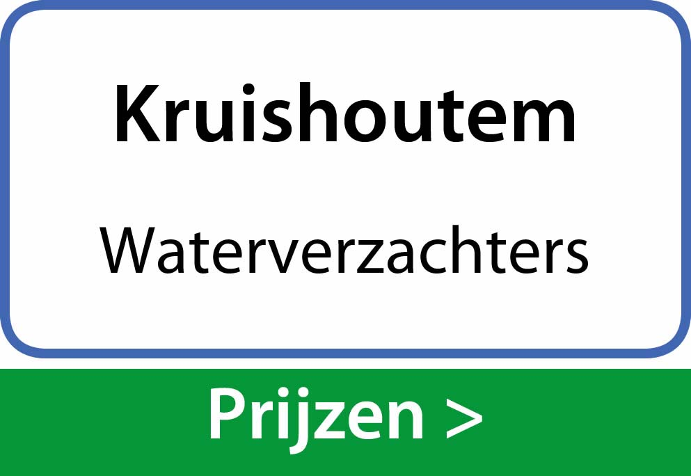 waterverzachters Kruishoutem