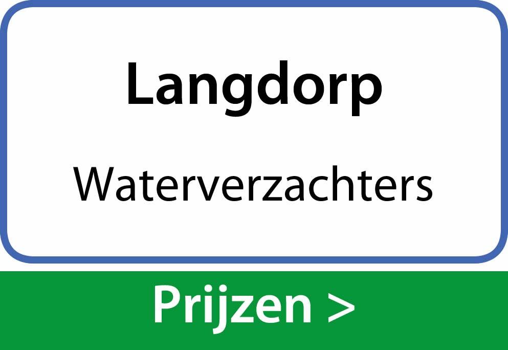 waterverzachters Langdorp