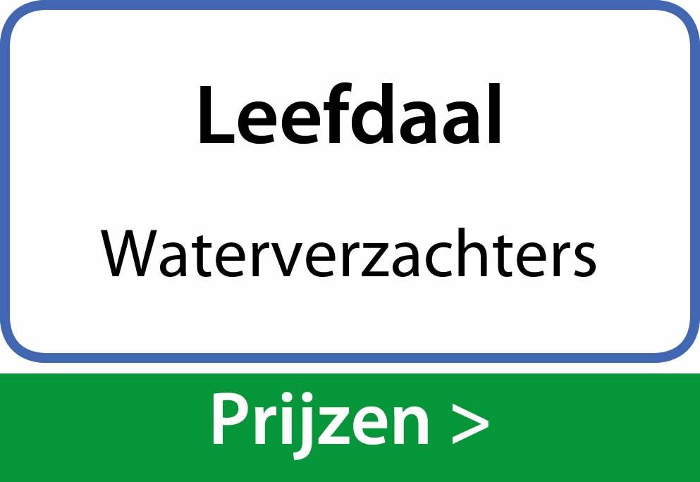 waterverzachters Leefdaal