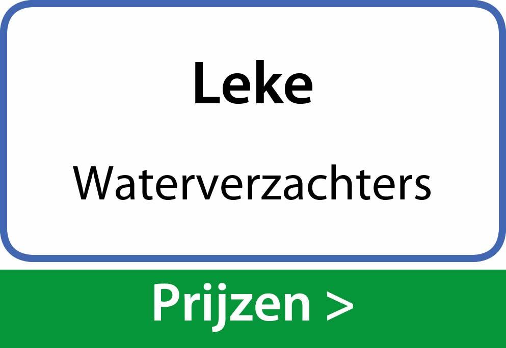 waterverzachters Leke