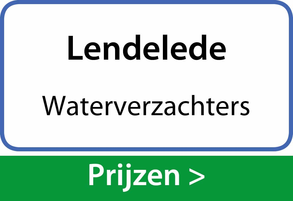 waterverzachters Lendelede