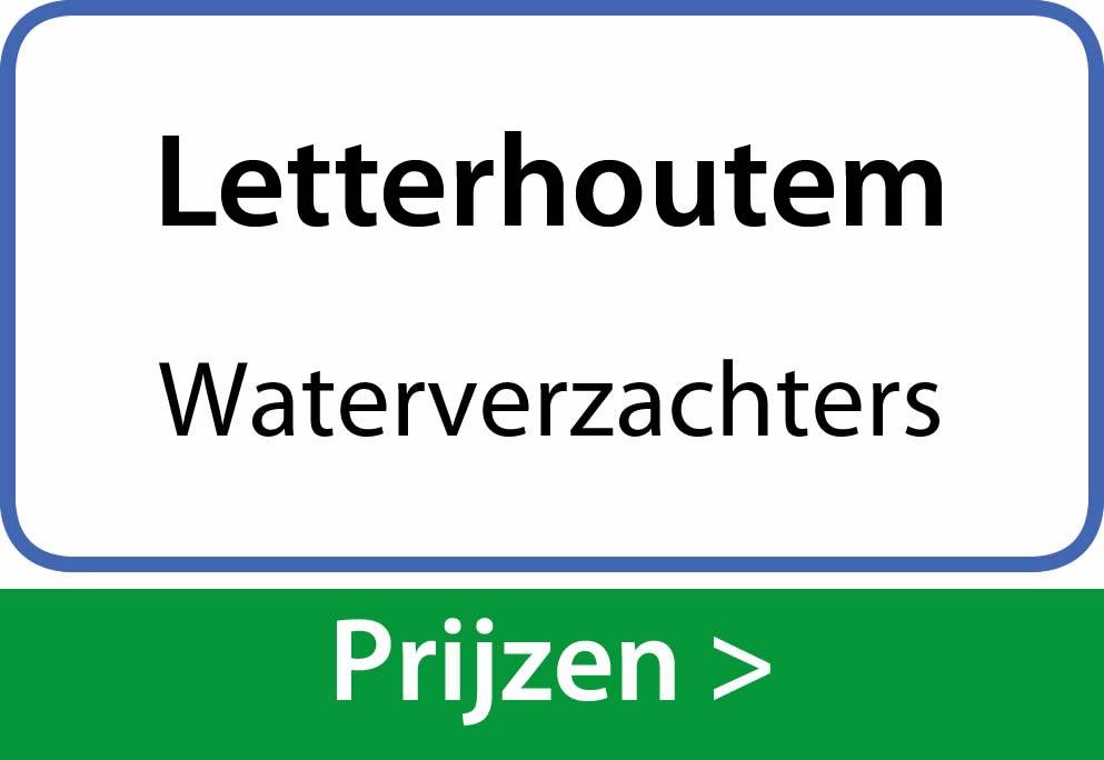 waterverzachters Letterhoutem