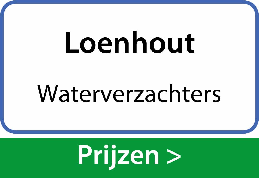waterverzachters Loenhout